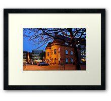 Old Police Station Framed Print