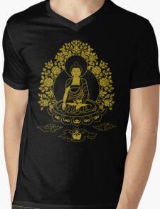 Shakyamuni Buddha Mens V-Neck T-Shirt