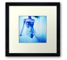 Fashion Blue Framed Print