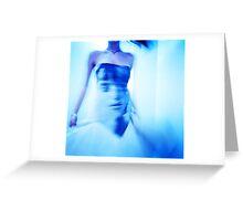 Fashion Blue Greeting Card