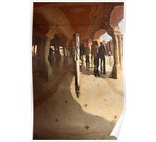 Silver Reflection, Jaipur, Rajasthan, India Poster