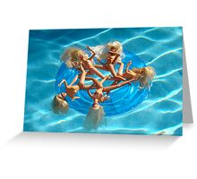 BARBIE FLOAT #27 Greeting Card