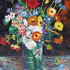 Van Gogh's Vase of Flowers by Richard Nowak