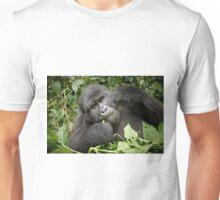 eating mountain gorilla Unisex T-Shirt