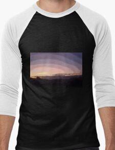 Purple Sunset #2 Men's Baseball ¾ T-Shirt