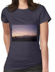 Purple Sunset #2 Womens Fitted T-Shirt