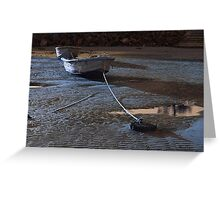 Row, row, row of boats. Greeting Card