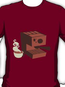 Italian coffee machine! espresso T-Shirt