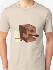 Italian coffee machine! espresso T-Shirt