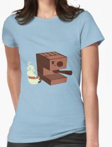 Italian coffee machine! espresso Womens Fitted T-Shirt