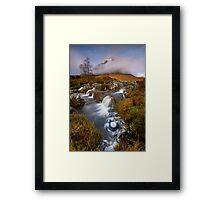 The Misty Mountain Framed Print