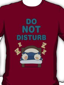 Snorlax 'Do Not Disturb' T-Shirt