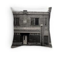 tattoo parlor Throw Pillow