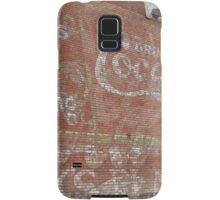 Coca Cola ~ over and over Samsung Galaxy Case/Skin