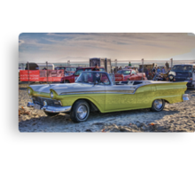 Fairlane Convertible, Oreti Beach Canvas Print