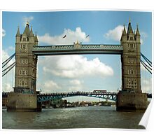Tower Bridge - London, UK Poster