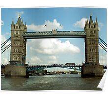 Tower Bridge - London, UK Poster