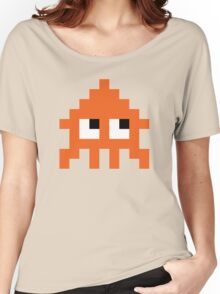 Pixel Squid (Splatoon Inspired) Women's Relaxed Fit T-Shirt