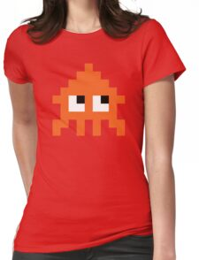 Pixel Squid (Splatoon Inspired) Womens Fitted T-Shirt