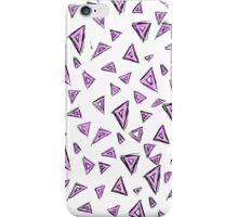 crazy for triangles iPhone Case/Skin