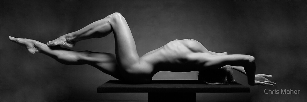 Platform Work #1470, a nude by Chris Maher by Chris Maher