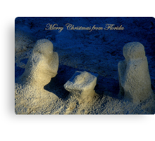 Christmas From Florida ~ Part One Canvas Print