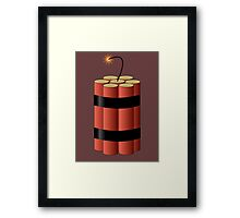 Dynamite by Chillee Wilson Framed Print