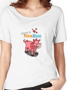 Farmville Addict Women's Relaxed Fit T-Shirt