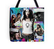 I don't like labels Tote Bag
