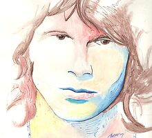 Jim Morrison Drawing by FaceStudios