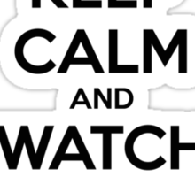 Keep calm and watch Hocus Pocus Sticker