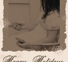 Happy Holidays Card 1 by Nancy  Vice