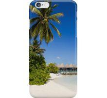 Water Villas in the Maldivian Atolls - Eden on Earth iPhone Case/Skin