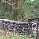 Stone Wall by artsthrufotos