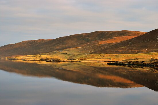 Reflections, Loch of Strom by ShroomIllusions