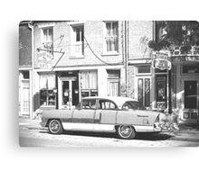Hannibal, Missouri: Packard Automobile Canvas Print