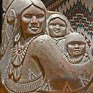 Navajo Art (photomontage) by Linda Sparks