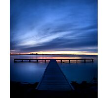 Pier at Millers Bay Photographic Print