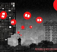 Red Bubble Poster !  by Andy Mercer