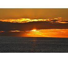 Sunset - Tenerife Photographic Print