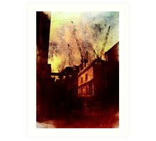 If You're Not Careful (This City Will Devour You) Art Print