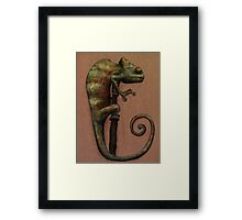 Its a Chameleon Framed Print