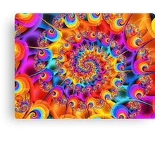 Lets Groove Canvas Print