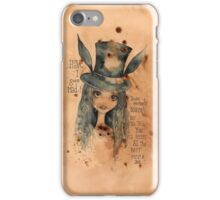 Alice Bonkers iPhone Case/Skin