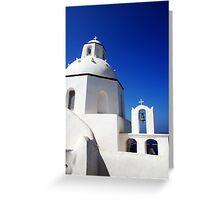 Greek church Greeting Card