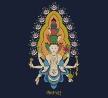 11 Heads of Avalokiteshvala T-Shirt