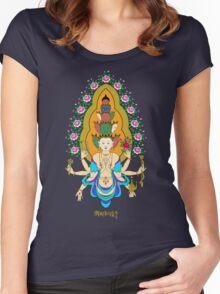 11 Heads of Avalokiteshvala Women's Fitted Scoop T-Shirt