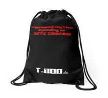 In approximately 1 hour, depending on traffic conditions (t3 minimal) Drawstring Bag
