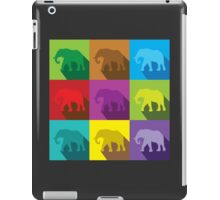 ELEPHANTS in many colours iPad Case/Skin