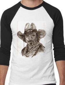 Tom Selleck Men's Baseball ¾ T-Shirt